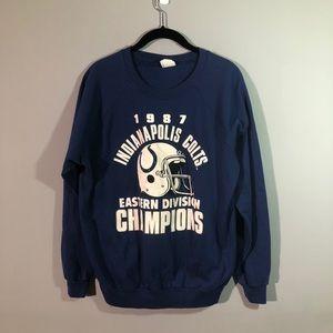 Vintage Women's Colts Crewneck Sweatshirt